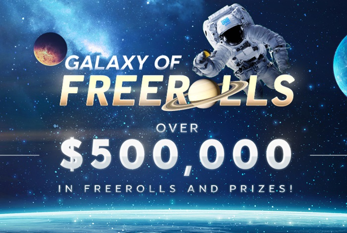 888poker запустил акцию Galaxy of Freerolls: ежедневные фрироллы с призовыми фондами $2,000 и $10,000
