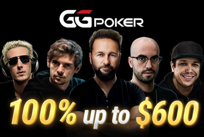 В покер-румах GG появился бонус на первый депозит