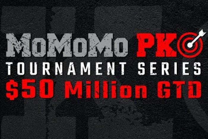 PokerKing проведет рекордную серию нокаут-турниров - MoMoMo PKO Series с гарантией $50,000,000