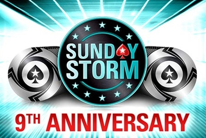 26 апреля на PokerStars пройдет юбилейный Sunday Storm с гарантией в $1,000,000
