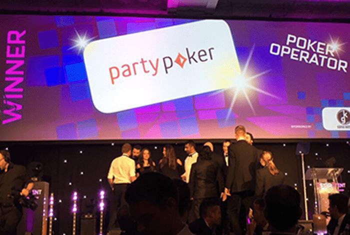 Partypoker третий год подряд признан лучшим покер-румом года по версии EGR