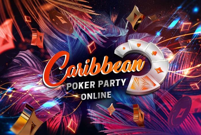 Caribbean Poker Party 2020 пройдет в онлайне на partypoker