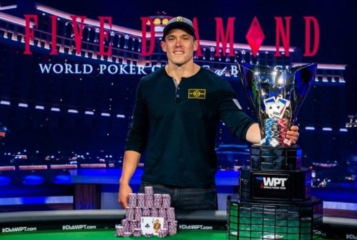 """Алекс Фоксен выиграл около $1,700,000 в рекордном WPT Five Diamond и возглавил рейтинг """"Игрок года WPT"""""""
