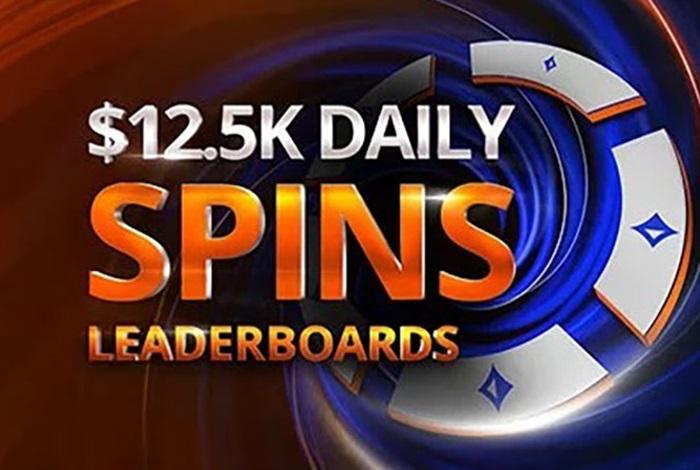 Partypoker запустит рейк-гонку для Spins, где ежедневно будет разыгрывать $12,500