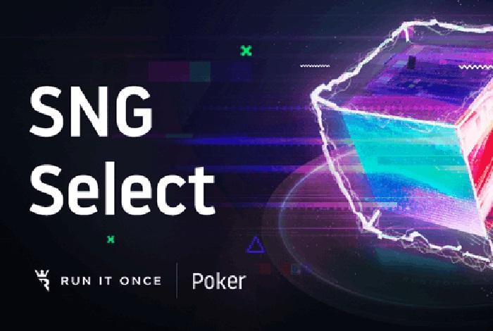Run It Once Poker запустит инновационные сит-энд-гоу - SNG Select