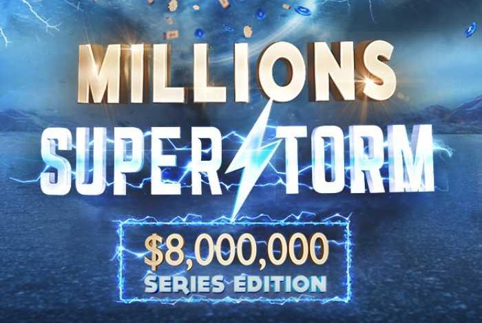 На 888poker вернулась акция Millions Superstorm с одноименной серией на $8,000,000