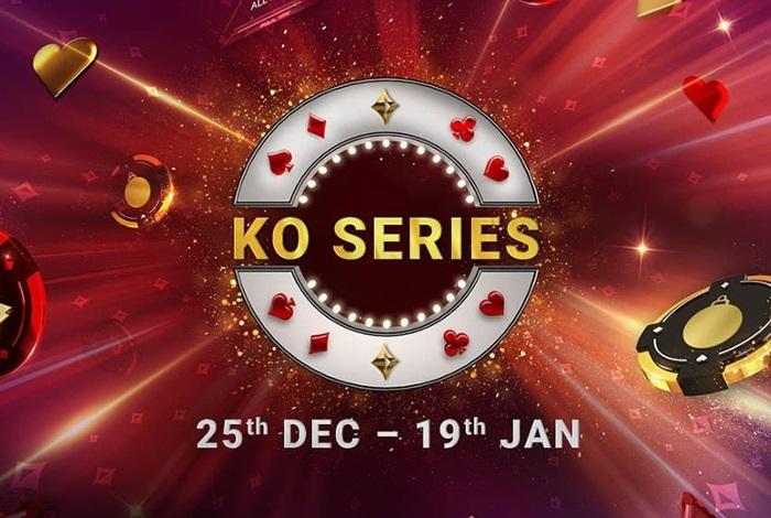 Partypoker проведет нокаут-серию KO Series с 25 декабря по 19 января