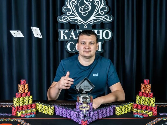 Михаил Замятин дважды выиграл Главное событие SPF в течение месяца