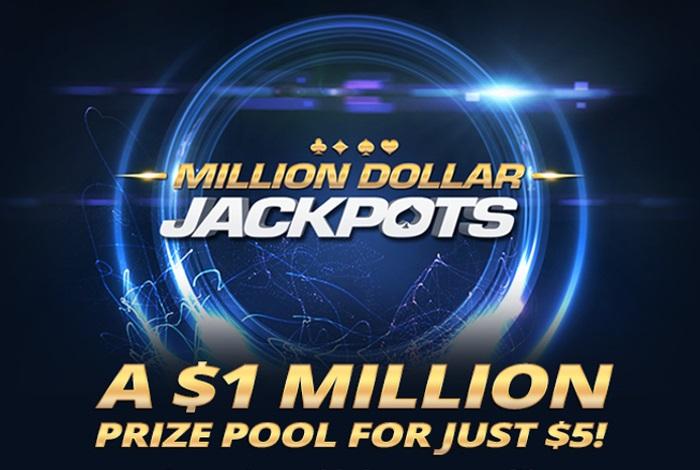 Americas Cardroom запустил Jackpots за $5 и $15 с джекпотом $1,000,000